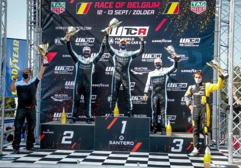 2020-09 WTCR Zolder Race 2 podium